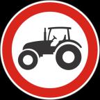 2212 Prepovedan promet za traktorje