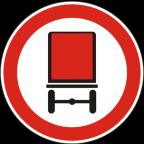 2218 Prepovedan promet za vozila, katerih tovor vsebuje nevarno blago