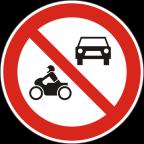 2215 Prepovedan promet za vsa motorna vozila