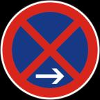 2236-2 Prepovedana ustavitev in parkiranje