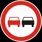 2228 Prepovedano prehitevanje motornih vozil