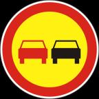2228-R Prepovedano prehitevanje motornih vozil