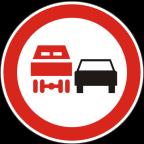 2230 Prepovedano prehitevanje za tovorna vozila