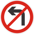 2226 Prepovedano zavijanje v označeno smer