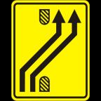 3305-3-R Preusmeritev prometa na drugo smerno vozišče