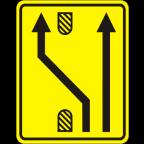3305-4-R Preusmeritev prometa na drugo smerno vozišče