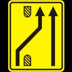 3305-5-R Preusmeritev prometa na drugo smerno vozišče