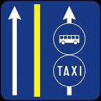 2411-2 Prometni pas za vozila javnega prevoza potnikov