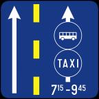 2411-3 Prometni pas za vozila javnega prevoza potnikov