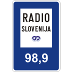 3212 Radijska postaja in njena frekvenca, ki predvaja prometne in turistične informacije.