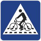 2430 Samostojni prehod za kolesarje
