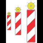 7202-1 Utripajoča rumena luč