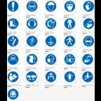 MS10735 Varnostni znaki EN ISO 1070 tipa M