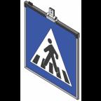 MS10270 Znak z notranjo osvetlitvijo PZ2431, 900x900, dvostranski, ZV, brez svetlobnih utripalnikov