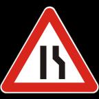 1109-1 Zoženje vozišča