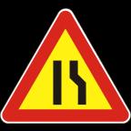 1109-1-R Zoženje vozišča