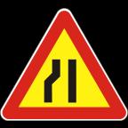 1109-2-R Zoženje vozišča